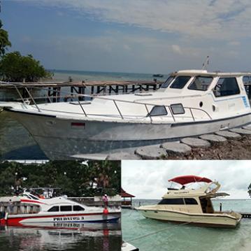 charter boat pulau seribu