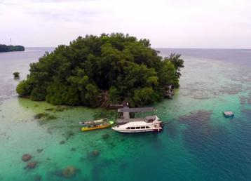 pulau macan merupakan salah satu pulau resort di pulau seribu
