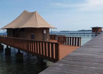 pulau putri merupakan salah satu pulau resort di pulau seribu