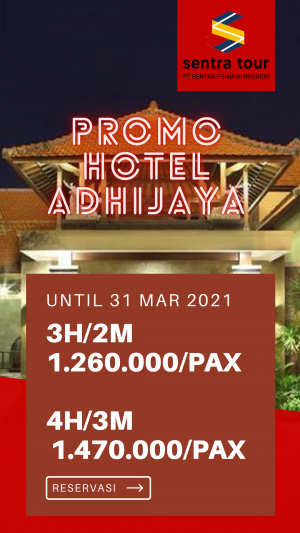 Paket Promo hotel Adhi Jaya