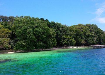 pulau pelangi merupakan salah satu pulau resort di pulau seribu