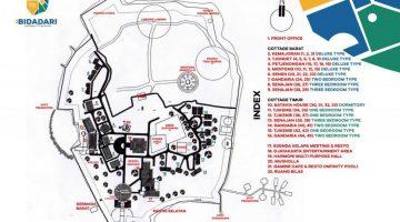 Map Bidadari