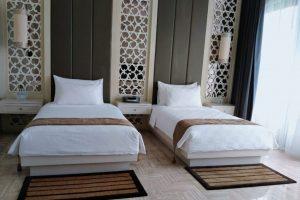 kamar twin bed pulau h